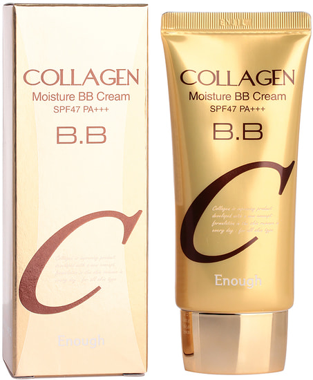 Увлажняющий BB крем с коллагеном Collagen Moisture BB Cream SPF47 Enough (фото, Enough Collagen Moisture BB Cream)