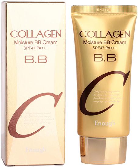 Увлажняющий BB крем с коллагеном Collagen Moisture BB Cream SPF47 Enough (фото, Enough Collagen Moisture BB Cream)