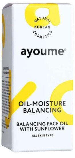 Масло для лица восстанавливающее Balancing Face Oil With Sunflower Ayoume (фото, Ayoume Balancing Face Oil With Sunflower)