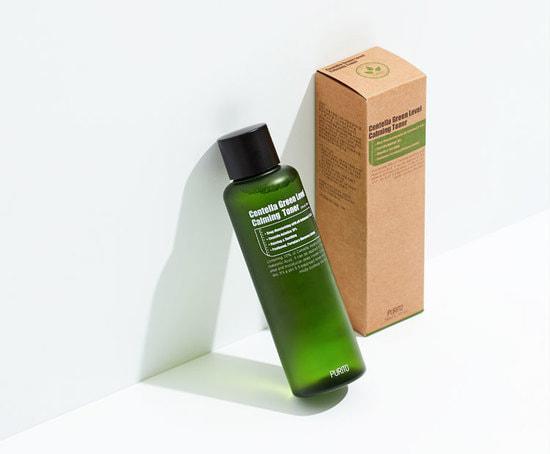 Бесспиртовый успокаивающий тонер с центеллой азиатской Centella Green Level Calming Toner Purito (фото, Purito Centella Green Level Calming Toner)