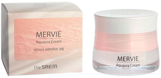 Увлажняющий крем для лица Mervie Aquaura Cream The Saem (фото, крем The Saem Mervie Aquaura Cream)