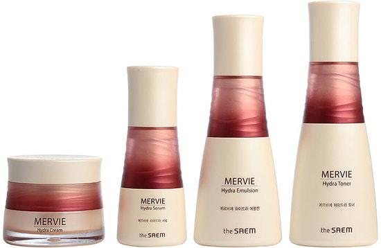 Набор для глубокого увлажнения кожи с экстрактом красного планктона Mervie Hydra Skin Care 3 Set The Saem (фото, The Saem Mervie Hydra Skin Care 3 Set)