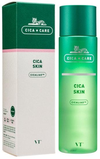Успокаивающий тонер с центеллой Cica Skin Toner VT Cosmetics (фото, VT Cosmetics Cica Skin Toner)