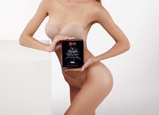 Коллаген в желе со вкусом грейпфрута Collagen Healthy Drink ENHEL (фото, японский коллаген в желе)