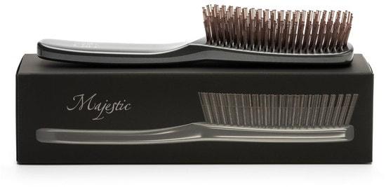 Расческа Majestic Graphite универсальная для всех типов волос (фото, Majestic Graphite)