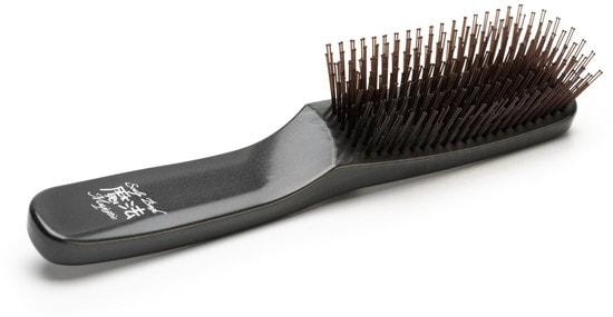 Расческа Majestic Graphite универсальная для всех типов волос (фото, японская расческа Majestic Graphite)