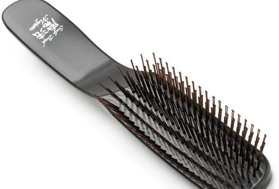 Расческа Majestic Graphite универсальная для всех типов волос (фото, вид 6)