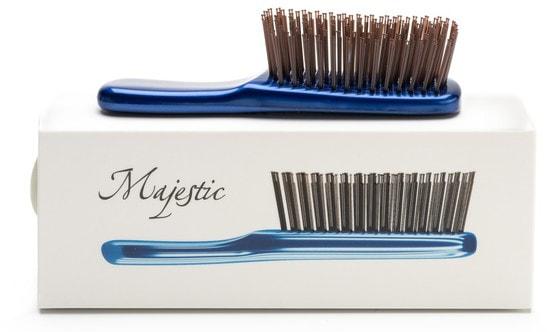 Расческа Majestic Mini Travel-версия для волос любого типа (фото, Majestic Mini Travel)