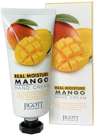 Увлажняющий крем для рук с экстрактом манго Jigott (фото, крем для рук манго)
