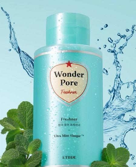 Очищающий тоник для проблемной кожи Wonder Pore Freshner Etude (фото, Etude Wonder Pore Freshner)