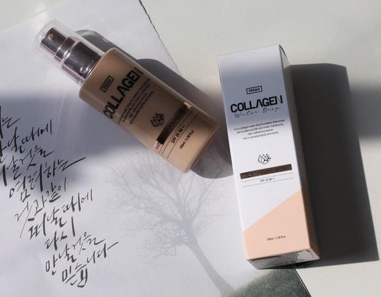 Увлажняющая тональная основа с коллагеном Collagen Water Drop Pekah (фото, Pekah Collagen Water Drop)