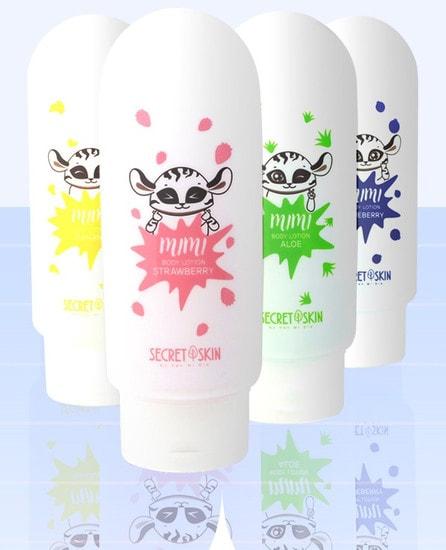 Лосьон для тела с ароматом клубники mimi body lotion Strawberry Secret Skin (фото, вид 2)