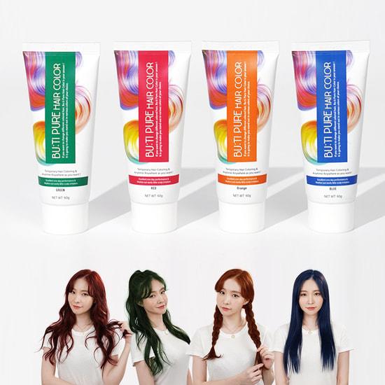 Временная краска для волос Bu:Ti Pure Hair Color (фото, Временная краска для волос)