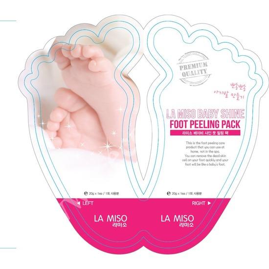 Педикюрные носки-пилинг для ног Baby Shine La Miso (фото, вид 1)