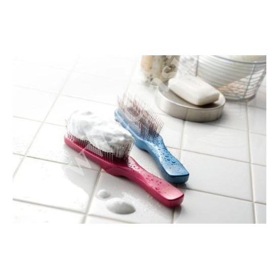 Японская расческа Majestic Premium S-Heart-S Scalp Brush красная (фото, вид 1)