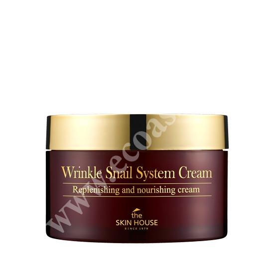 Анти-возрастной улиточный крем Wrinkle System The Skin House (фото, вид 1)