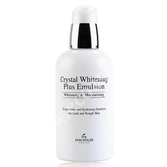 Отбеливающая эмульсия против пигментации Crystal Whitening The Skin House (фото, вид 1)