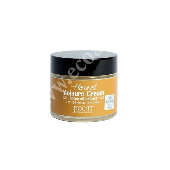Увлажняющий крем с лошадиным маслом Jigott (фото, вид 1)
