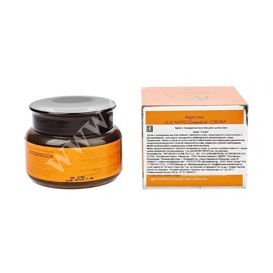 Крем с лошадиным маслом для сухой кожи FarmStay (фото, вид 1)