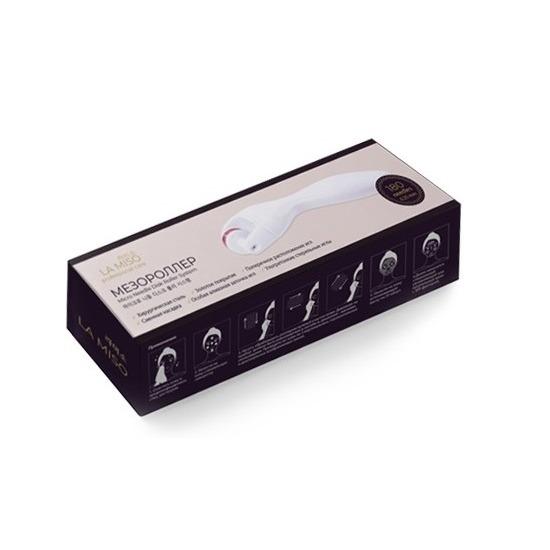 Мезороллер для кожи вокруг глаз 190 игл Micro Needle Disk Roller System La Miso (фото, вид 1)