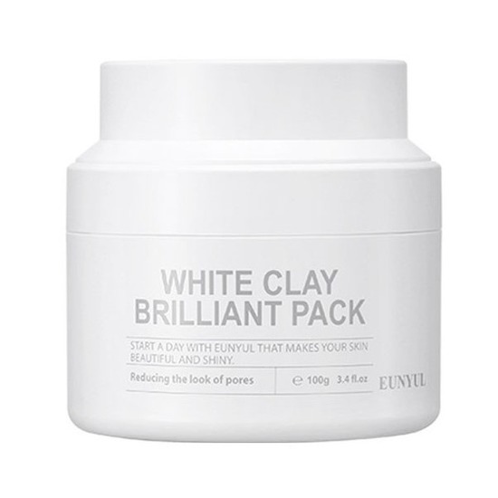 Очищающая маска для лица с белой глиной White Clay Brilliant Pack Eunyul (фото, вид 1)
