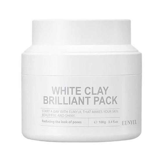Очищающая маска для лица с белой глиной White Clay Brilliant Pack Eunyul (фото, вид 1)
