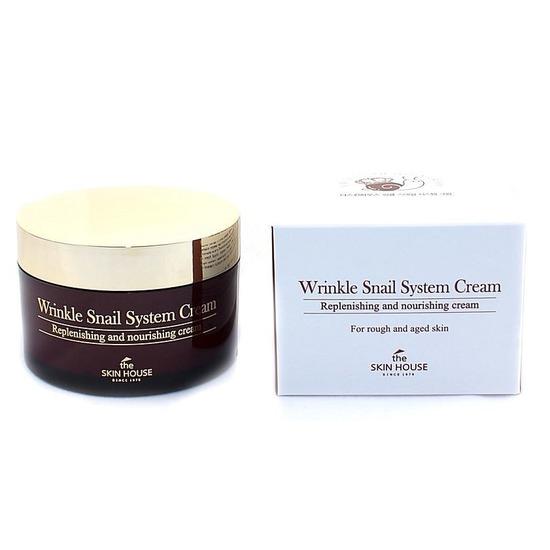 Анти-возрастной улиточный крем Wrinkle System The Skin House (фото, вид 2)