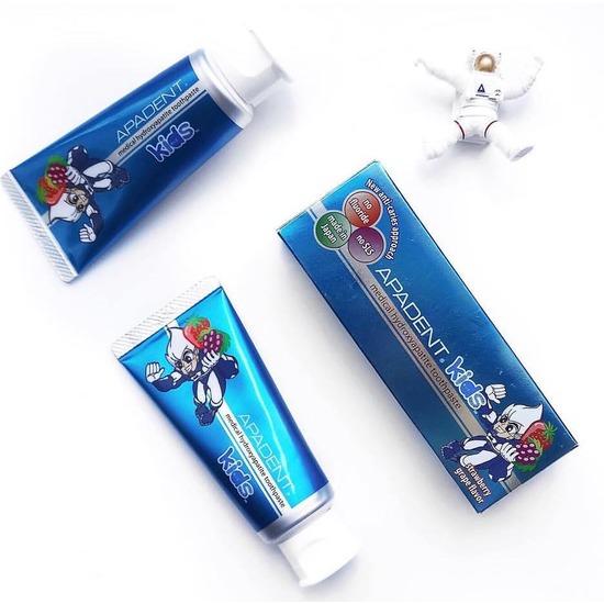 Детская зубная паста APADENT Kids (фото, вид 2)
