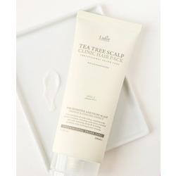 Маска-пилинг для очищения кожи головы с экстрактом чайного дерева Tea Tree Scalp Clinic Hair Pack Lador. Вид 2