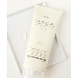 Маска пилинг для очищения кожи головы Tea Tree Scalp Clinic Hair Pack Lador. Вид 2