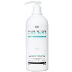 Шампунь для волос с аргановым маслом и протеинами шелка Damaged Protector Acid Shampoo Lador. Вид 2