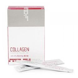Восстанавливающая коллагеновая сыворотка пудра для волос Mugens Collagen Essential Powder Welcos. Вид 2