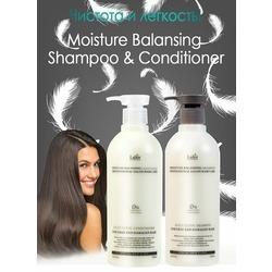 Безсиликоновый увлажняющий шампунь Moisture Balancing Shampoo Lador. Вид 2