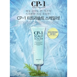 SPA средство для глубокого очищения кожи головы CP-1 Head Spa Scalp Scaler Esthetic House. Вид 2
