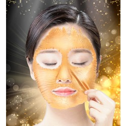 Маска-пленка с золотом Hell-Pore Longolongo Gronique Gold Mask Pack Elizavecca. Вид 2