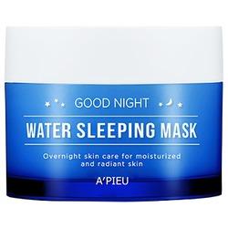 Омолаживающая ночная маска для лица Good Night Water Sleeping Mask Apieu. Вид 2