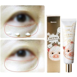 Крем для глаз с экстрактом ласточкиного гнезда Gold CF-Nest White Bomb Eye Cream Elizavecca. Вид 2