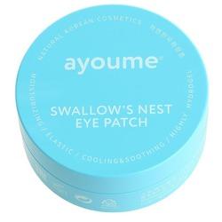 Подтягивающие патчи для глаз с экстрактом ласточкиного гнезда Ayoume. Вид 2