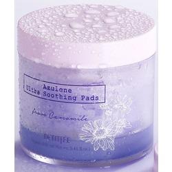 Ультра успокаивающие подушечки для лица с азуленом Azulene Ultra Soothing Pads Petitfee. Вид 2