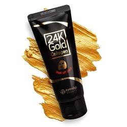 Очищающая маска пленка с 24к золотом Eyenlip. Вид 2