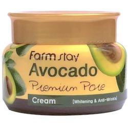 Осветляющий лифтинг-крем с экстрактом авокадо FarmStay. Вид 2