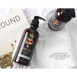 Восстанавливающий шампунь для волос с аргановым маслом May Island. Вид 2