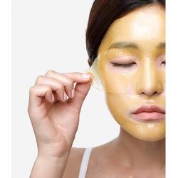 Гидрогелевая маска для лица выравнивающая тон кожи Petitfee. Вид 2