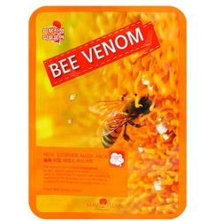 Тканевая маска для лица с экстрактом пчелиного яда May Island. Вид 2