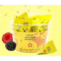 Пилинг-гель для лица в пирамиках с фруктовыми кислотами Enjoy Mini Peeling Gel Ayoume. Вид 2