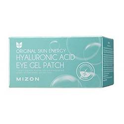 Гидрогелевые патчи под глаза с гиалуроновой кислотой Hyaluronic Acid Eye Gel Patch Mizon. Вид 2