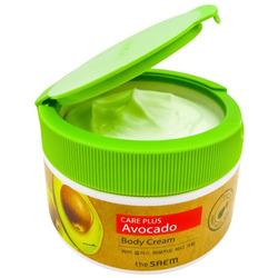 Питательный крем для тела с экстрактом авокадо Care Plus Avocado Body Cream The Saem. Вид 2