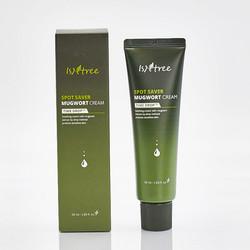Успокаивающий крем для лица с экстрактом японской полыни Spot Saver Mugwort Cream Isntree. Вид 2