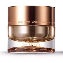 Антивозрастной лифтинг-крем для лица с золотом Gold Lifting Cream The Saem. Вид 2