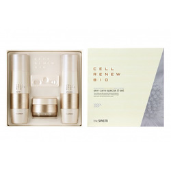Премиальный набор уходовый антивозрастной Cell Renew Bio Skin Care Special 2 Set N The Saem. Вид 2